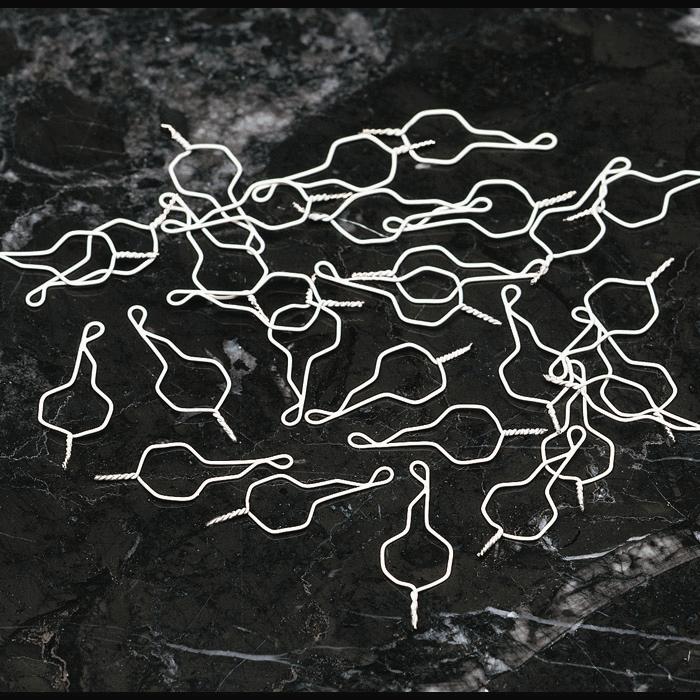 Лигатура короткая Кобаяши с белым покрытием