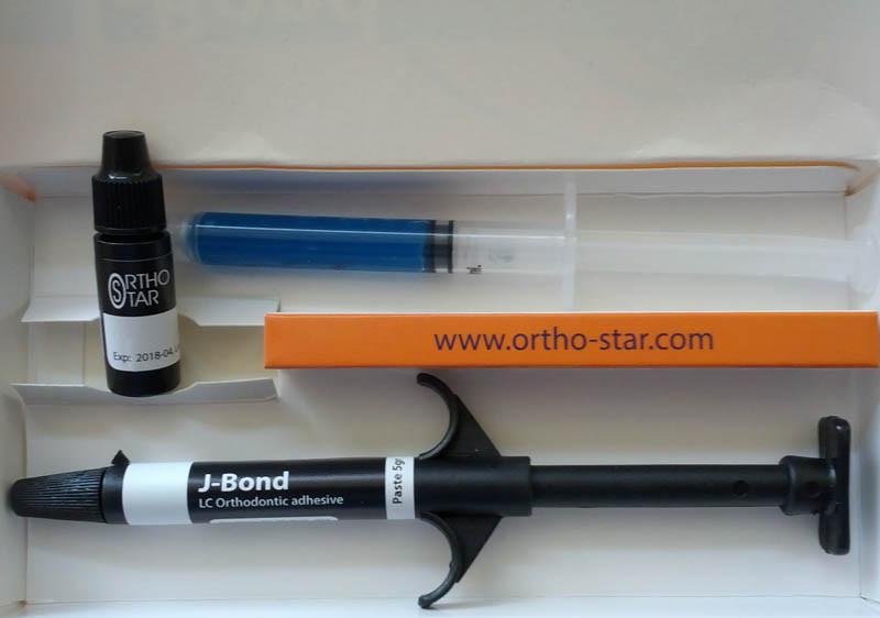 Ортодонтический фотополимерный фиксирующий материал J-Bond (США)